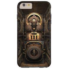Infernal Steampunk Contraption Tough iPhone 6 Plus Case