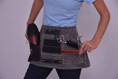 Hairdresser apron 7 points for professional use