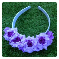 LISA FLORAL HEADBAND by Sweet As Candy Vintage