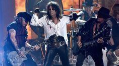 Super-group Hollywood Vampires, with Johnny Depp, Joe Perry and...: Super-group Hollywood Vampires, with Johnny… #JohnnyDepp #AmberHeard