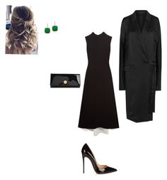 """""""Evening"""" by cgraham1 on Polyvore featuring Marni, Haider Ackermann, Christian Louboutin, Jimmy Choo and Anne Sisteron"""