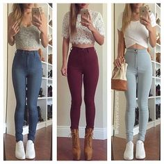 Flawless outfits!
