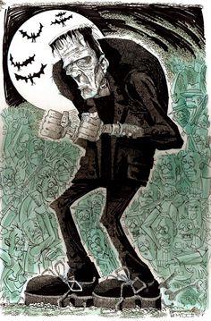 Frankenstein by Jim McDermott
