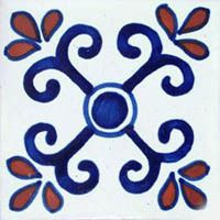 e handmade #mexican #ceramic #tile from #DoloresHidalgo. Are looking for adding…