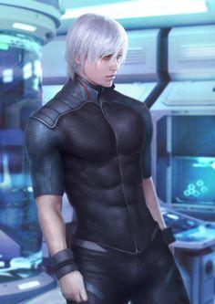 Character Concept work for novel Boy Character, Character Concept, Character Design, Anime Manga, Anime Guys, Metal Gear Rising, Hot Guys Tattoos, Webtoon Comics, Fantasy Male