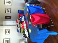 Capes for superhero party