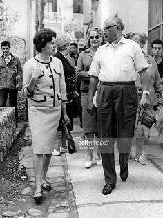 Soraya (Esfandiary Bakhtiary) *-+ Kaiserin von Persien 1951-1958, Iran - bei…