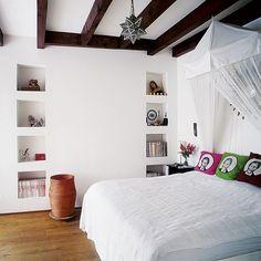 bedroom | bed room white pop art, deco, decoration
