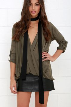 Gimme the Skinny Black Skinny Scarf at Lulus.com!