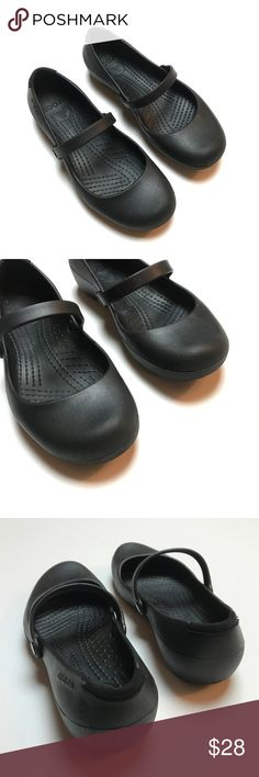 d64e32df3 crocs alice work shoes mary janes slip on strap crocs alice work shoes mary  janes slip