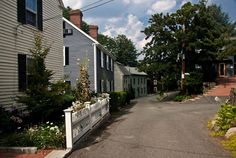 Marblehead, MA colonial houses