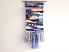 Woven+Wall+Hanging+Weaving++wall+art+от+JungleAndSpritz+на+Etsy