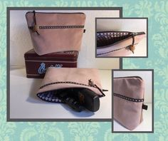 Toilet-taske og kosmetikpung   Sygal Bag Patterns To Sew, Sewing Patterns, Sewing Hacks, Sewing Projects, Chicken Crafts, Fabric Bags, Womens Purses, Free Pattern, Zip Around Wallet
