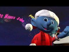 Ein gutes neues Jahr 2017, Wünsche Grüße vom Schlumpf zu Neujahr - YouTube