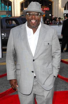 Cedric the Entertainer, Reverend Boyce (The Soul Man) and Golly Goose (Charlotte's Web), born Chubby Men Fashion, Big Men Fashion, Men's Fashion, Big And Tall Suits, Big And Tall Style, Men Cry, Cedric The Entertainer, Charlotte's Web, Plus Size Men