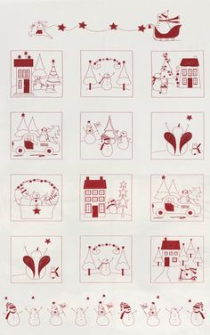 Winter Wonderland from Bunny Hill Designs