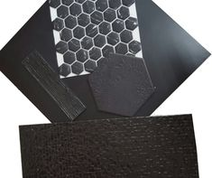 Black tiles are an eye-catching way to add real character to your décor.