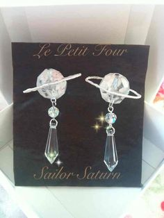 Sailor saturn Earring by ~AngelicLight100 on deviantART