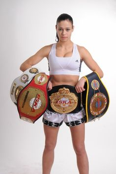 """Meet Lena """"The Hunter"""" Ovchynnikova,   She looks like the girl next door, but her kicks and punches could kill even the most masculine guy. What's even better is that she would now be constantly flying in and out of India to fight it out at the Super Fight League – a mixed martial art fight league launched by businessman Raj Kundra and actor Sanjay Dutt."""