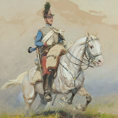 Salute to Edouard Detaille - Armchair General and HistoryNet >> The Best Forums in History Painted Horses, Military Art, Military History, Military Uniforms, Edouard Detaille, Crimean War, Second Empire, French Army, Napoleonic Wars