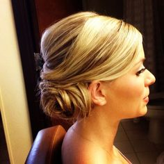 Wedding Day Buns, Wedding Hair & Beauty Photos by Formal Faces On-Location Hair & Makeup for Weddings