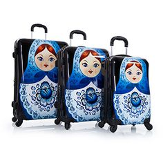 Russian dolls suitcases