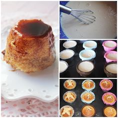 Flan de coco pasos Paleo, French Toast, Muffin, Breakfast, Cakes, Coconut Desserts, Tortilla Pie, Pound Cake, Pastries