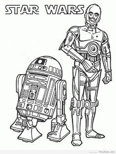 Timykids Star Wars Coloring Printables