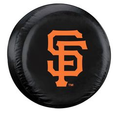 San Francisco Giants Black Tire Cover - Standard Size (Blemished)