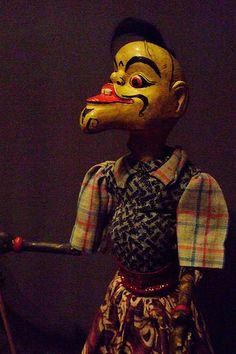 Rod Puppet. Wayang Golek of Java.