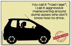 Road Rage Dump E-card