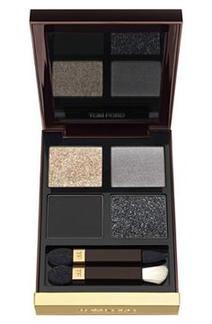 Gorgeous. Buttery-rich & highly pigmented shadow quad from Tom Ford.