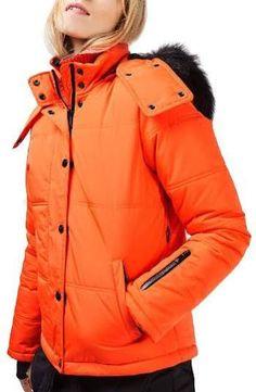 Shop for Women's Hero Puffer Ski Jacket by Topshop at ShopStyle. Ski Slopes, Female Hero, Winter Jackets, Ski Jackets, Canada Goose Jackets, Skiing, Faux Fur, Raincoat, Topshop