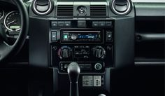Defender, impianto audio