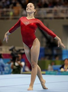 Carly Patterson. Fave Olympic gymnast.