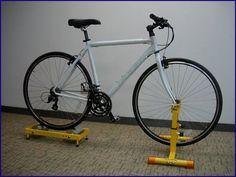 Stationary Bike Stand Diy Stationary bike stand diy