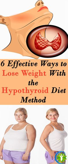"""6 Effective Ways to Lose Weight With the """"Hypothyroid Diet Method"""""""