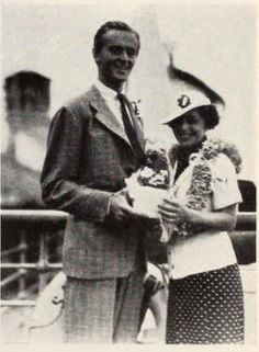 May 29th 1937 Wallace Reid Jr with mom Dorothy Davenport Reid
