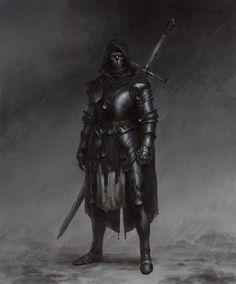 Fantasy Armor, Medieval Fantasy, Dark Fantasy Art, Fantasy Character Design, Character Inspiration, Character Art, Dungeons And Dragons Characters, Fantasy Characters, Fictional Characters