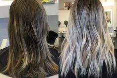 From Brass To Low Maintenance Ash Sombre | Modern Salon