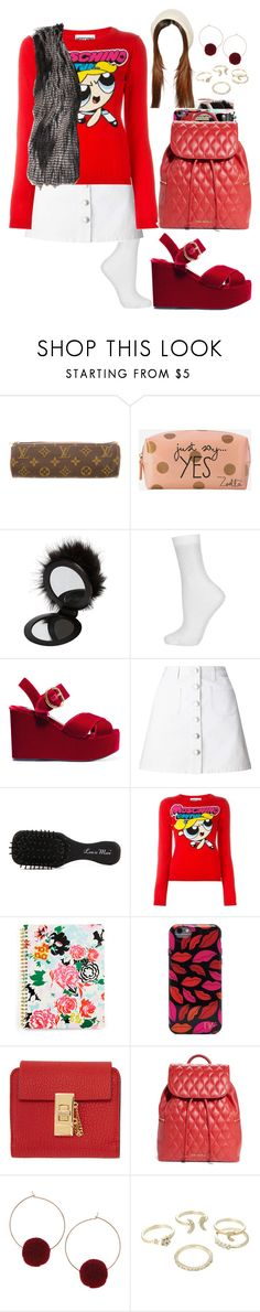 """""""Untitled #625"""" by eduardafrancisca69 ❤ liked on Polyvore featuring Louis Vuitton, Zoella Beauty, River Island, Topshop, Prada, Miss Selfridge, Less is More, Moschino, Diane Von Furstenberg and Chloé"""