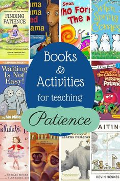 Books and activities to teach patience
