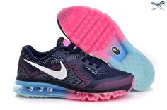 Nike Air Max 2014 Kids Mesh Black White Pink Kids Shoes