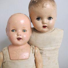 vintage dolls...i love to adopt them...timeless treasures