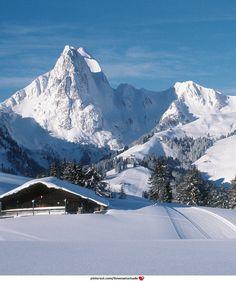 Mount Eggli, Gstaad.