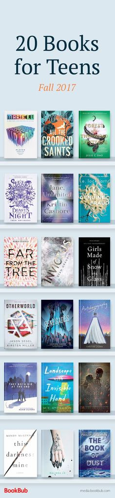 If you missed these great books, add them to your 2018 reading list! Featuring 20 of the best books for teens out in 2017, including life changing books for boys and girls. These recommended books feature romance, mystery, fantasy, and more.