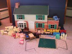 Metal Dollhouses On Pinterest Vintage Dollhouse