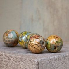 Beads from maps.