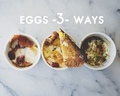 EGGS // The Kitchy Kitchen