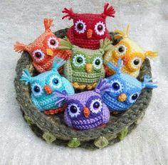 Mesmerizing Crochet an Amigurumi Rabbit Ideas. Lovely Crochet an Amigurumi Rabbit Ideas. Crochet Owls, Crochet Amigurumi, Cute Crochet, Amigurumi Patterns, Crochet Animals, Crochet Crafts, Yarn Crafts, Crochet Baby, Knitting Patterns
